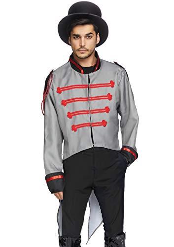 Leg Avenue Men's Military Jacket Costume, Gray/Grey, Medium/Large]()