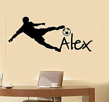 pegatina de pared pegatina de pared frases Balón de fútbol de la ...