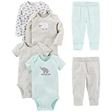 Simple Joys by Carter's Baby 6-Piece Little Character Set