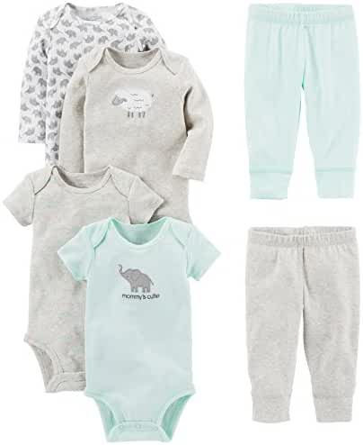 Simple Joys by Carter's Unisex Baby 6-Piece Little Character Set