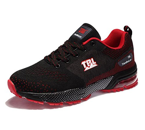Scennek Running Shoes for Mens Air Cushion Sneaker Athletic Sports Training Casual Walking Shoe Cheap (Cross Training Shoes Reviews)