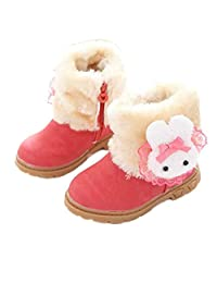 Biban Baby Snow Boots Girl Cute Winter Baby Child Style Cotton Boot Warm