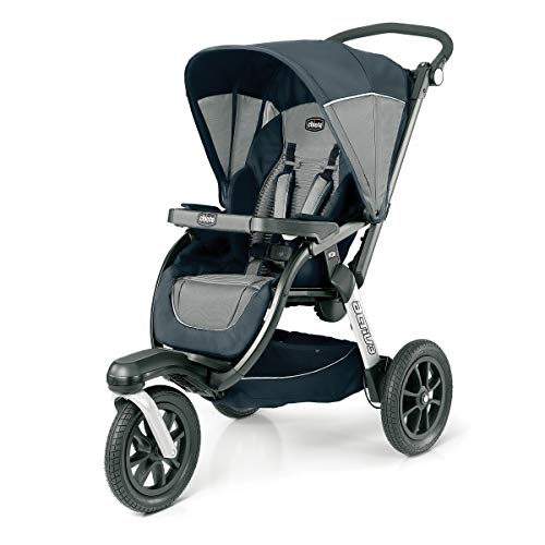 Find Cheap Chicco Activ3 Air Jogging Stroller - atmos, Grey