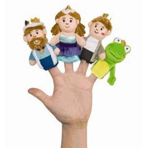 The Frog and the Prince Finger Puppet Boxed Set By Manhattan Toy
