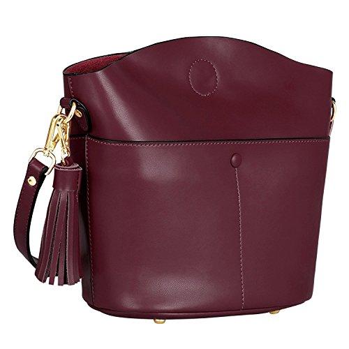 S-Zone 2Way Leather Shoulder Bag Diagonally Over Bag Tote Bag Handbag Lad Jp F/S