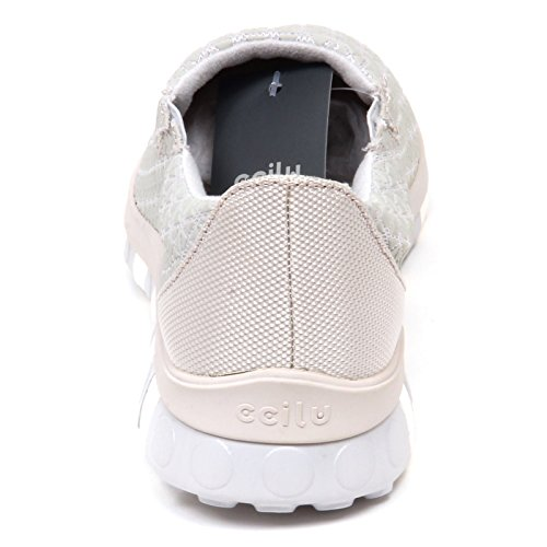 Sneaker without Man Grey Shoe rubber On Slip Uomo E8032 Grigio Tissue Box Ccilu A5Ztq6
