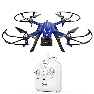 DROCON Bugs 3 Powerful Brushless Motor Quadcopter Drone for Adults and Hobbyilists, High Speed Flying Gopro Drone, Suport Gopro HD Camera 4K Camera, 18Min Flying Time 300 Meters Long Control Range from DROCON