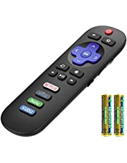 Angrox Remote Control Applicable for TCL Roku TV Remote All TCL Roku Smart LED TVs