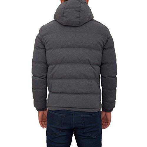 Mountain Jacket Grey Ea7 Hooded Heavy Large 6wqdpYd