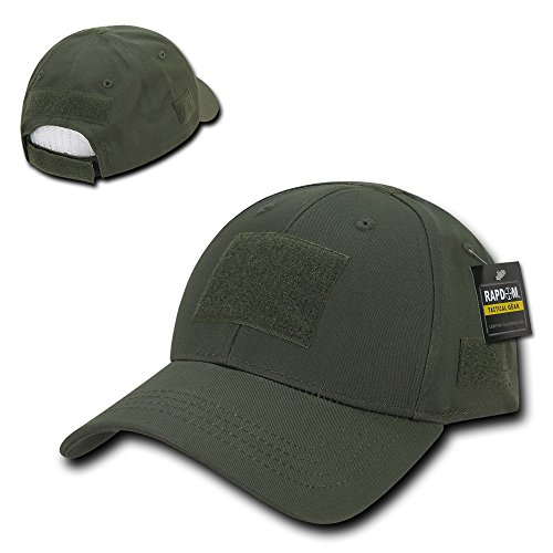 Firm Low Profile Tactical Operator Cap with Loop Patch - Olive