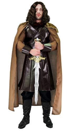 GHLLSAL Traje de Lujo Medieval Guerrero Poder para Hombres ...