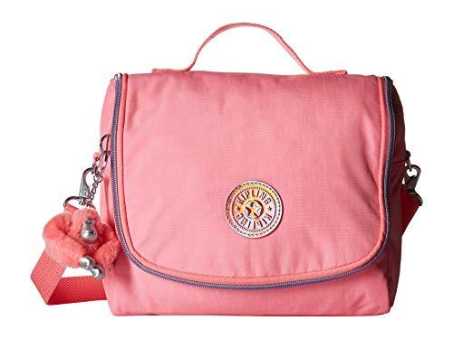 Kipling Kichirou Insulated Lunch Bag, Removable, Adjustable Crossbody Strap, Zip Closure, Conversation Heart (Heart Lunch)