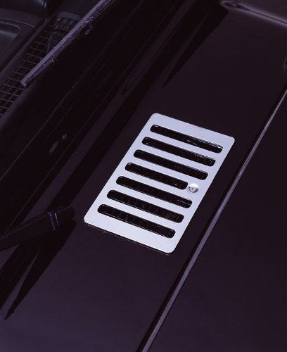 Rugged Ridge 11117.04 Stainless Hood Vent Cover