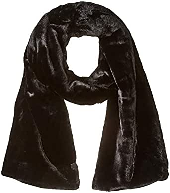 Calvin Klein Women's POP Color POM Knit Beanie, black, O/S