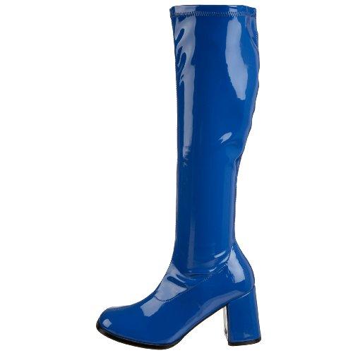 Pour S Pu Femmes Marine Bottines Bleu Funtasma Brevet Stretch Gogo300 q4UwAaI