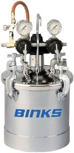 PT II Pressure Tank w Air Agitator Dual Regulator