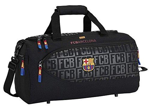 Official FC Barcelona soccer, sport bag Black, 19.7''x9.8''x9.8'' by F.C. Barcelona
