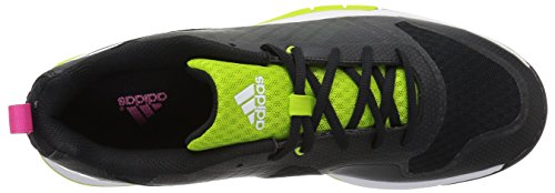 Adidas Performance Volley Volleyball 2 Femmes W / Volley-ball Noir / Semi Solaire Slime / Shock Rose