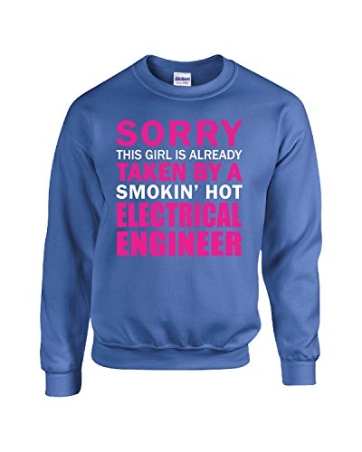 This Girl Taken by Smokin' Hot Electrical Engineer Wife Gift - Adult Sweatshirt