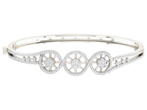 Libertini bracelet argent 925 femme serti de Diamant