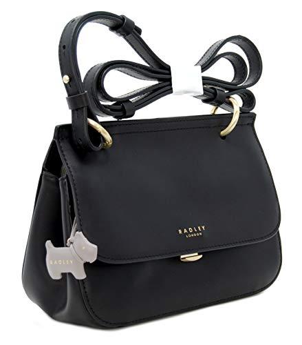 Radley, sac à bandoulière noir pour femmes M