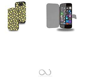 Smiley seamless Collection Pattern Funda de Cuero para Archos 50 Cesium Flip Case Cover (Estuche) PU Cuero - Accesorios Case Industry Protector