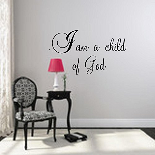 Child Wall Decal 21 High black White