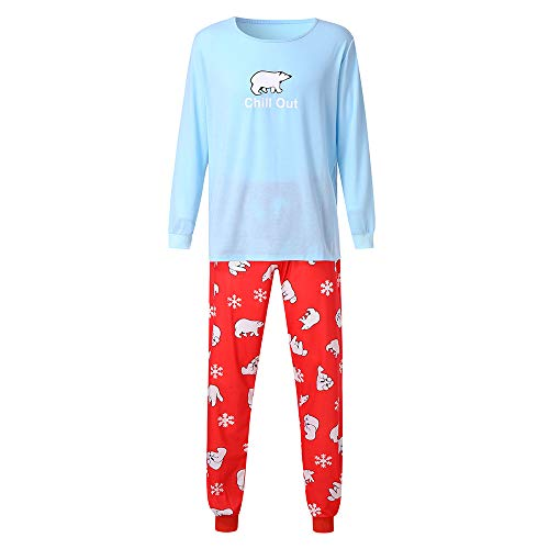Family Pajamas Set Duseedik Men Daddy Mommy Cartoon Blouse Pants Sleepwear Matching T Shirt Outfits Clothes for $<!--$16.27-->