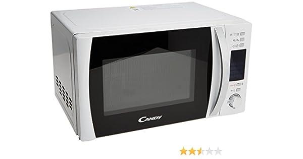 Candy CMGC20DW - Microondas con función grill, 20 L, 700 W, color Blanco