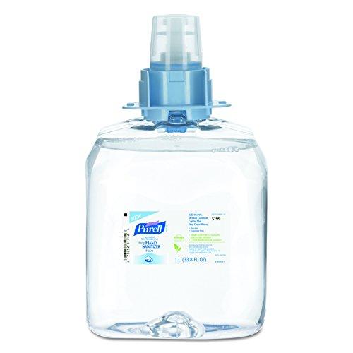 PURELL FMX-12 Advanced Hand Sanitizer Skin Nourishing Foam, 1000 mL Sanitizer Refill for PURELL FMX-12 Push-Style Dispenser (Case of 3) – 5199-03