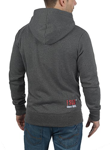 Pull Homme Hoodie 8254 Capuche Polaire Bennhood solid À Grey Med Doublure Pour Sweat pxBqHHFwS