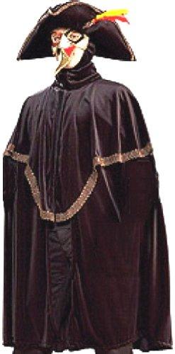 The Highway Man Renaissance Masquerade Adult Costume (4pcs)