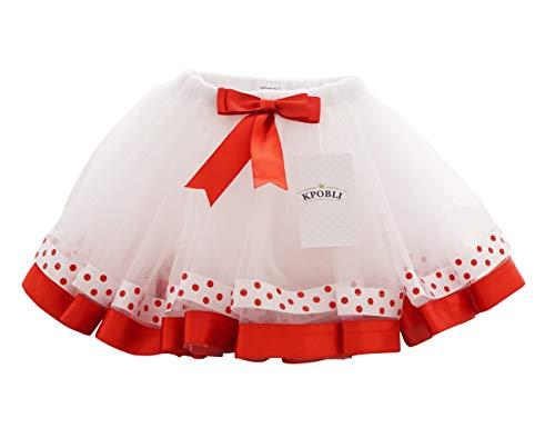 KPOBLI Tutus for Girls - Princess Skirt, Ballet Dance and Halloween Costumes, Gifts for Christmas Birthday Party ()