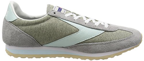 Brooks Vanguard Damen Round Toe Synthetik Laufschuh Grau / Whispering Blau