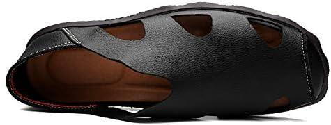 ドライビングシューズ 革 男性用 ビーチサンダル 通気性 歩きやすい かかと踏める スリッパ 防滑 メンズシューズ カジュアル ソフト 黒 軽量化 クッション 蒸れない サボサン ブラウン