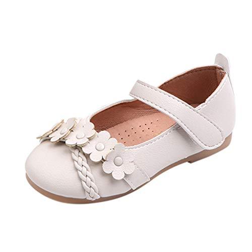 Mysky Infant Toddler Kids Baby Girls Popular Lovely Flower Criss Cross Woven Belt Comfy Princess Shoes Sandals -