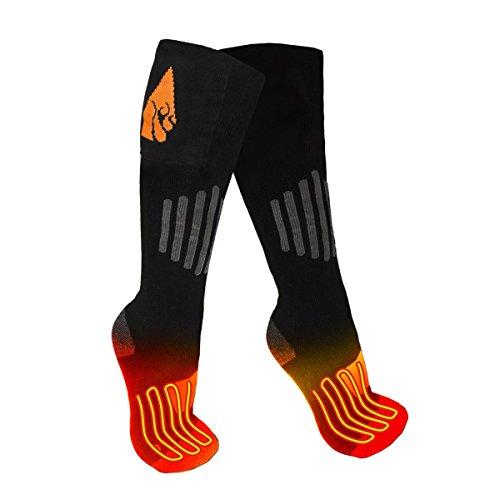 ActionHeat AA Battery Heated Socks - Wool