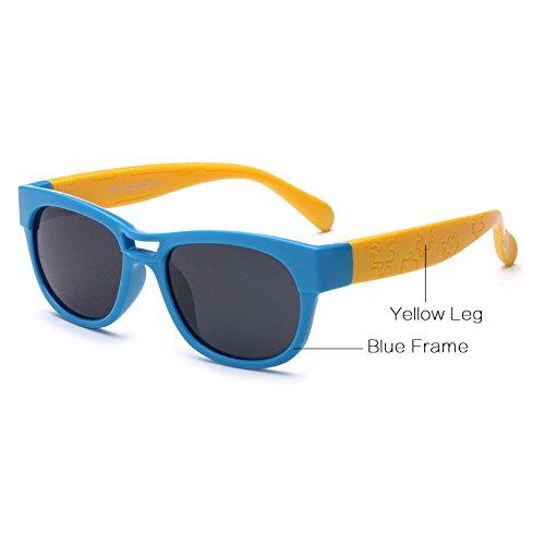 Sol polarizadas 9 de Negro Pynxn Gafas os para Azul 2 Ni Eyewear a Marcos Gafas Rojo de Flexible os Sobre con Silicone Amarillo para Sol os Ni gIqERwvqx