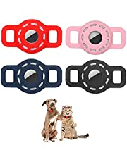 LiZHi AirTag Holder Compatible for Apple Airtag,Air Tag Dog Collar Pet Air Tags Case Cover