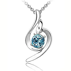 CRF Collar de cristal de ángel Lucky-1