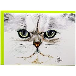 Rainbow Card Company Caustic Cats Greeting Card - Sebago