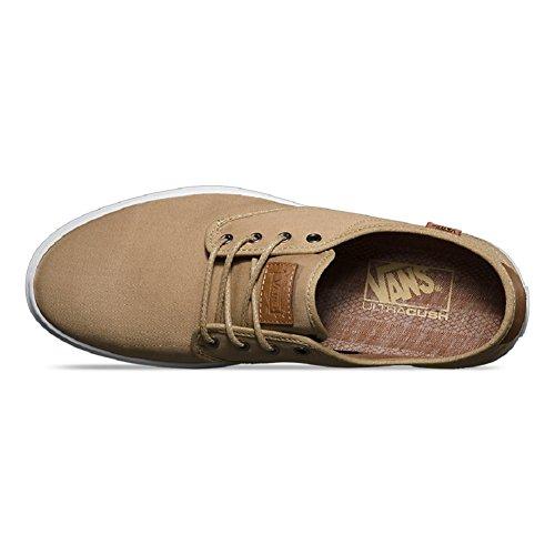 Vans Hombres Ludlow + (t & L) Khaki / White Us 7 Zapatillas De Skate