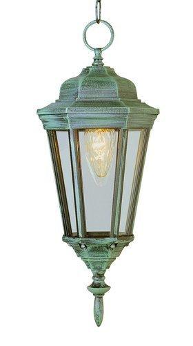 Waldorf 17 Inch Hanging Lantern In Moss (Waldorf Store)