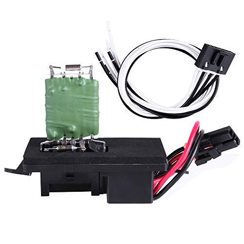cciyu HVAC Blower Motor Resistor Fan Heating and Air Conditioning Blower Motor Resistor AC Blower Control Module fit for Cadillac, Chevrolet, GMC ()