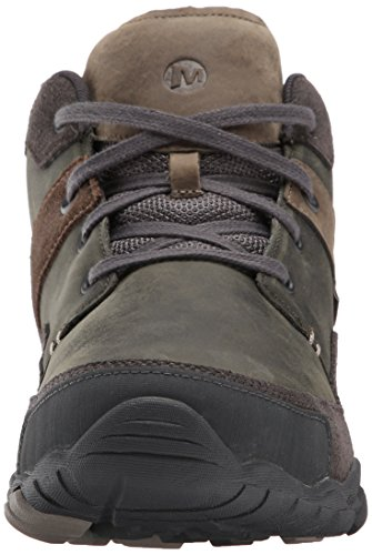 Merrell Mens Telluride Mid Boot Waterproof In Granito