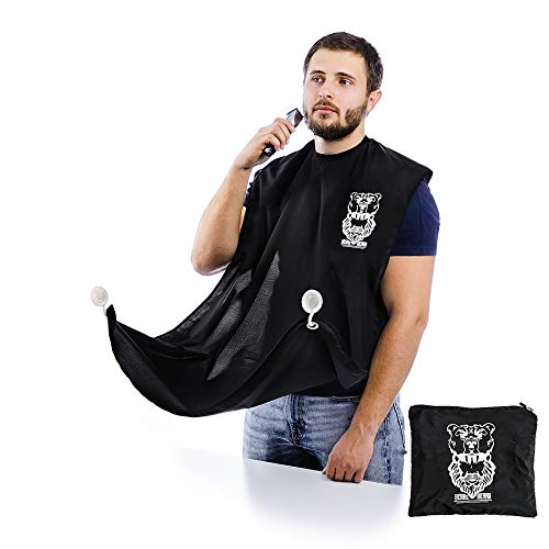 Bear's Beard Beard Bib + Good Gift - Beard Catcher Apron for -