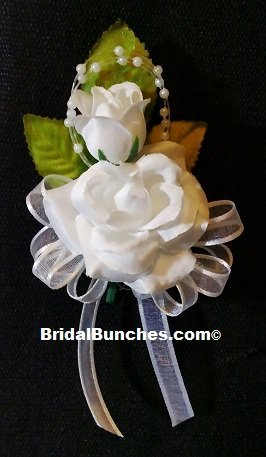 Amazon White Rose Corsage Prom Wedding Flowers Corsages