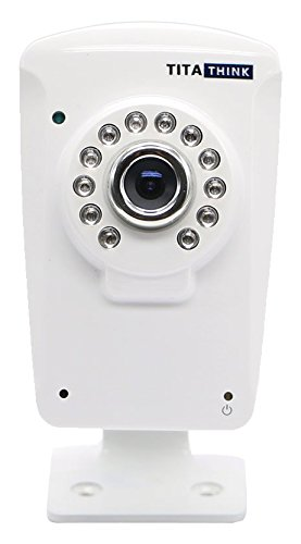 Titathink 1080P Wireless Home Security Audio Video IP Camera - White - TT630W