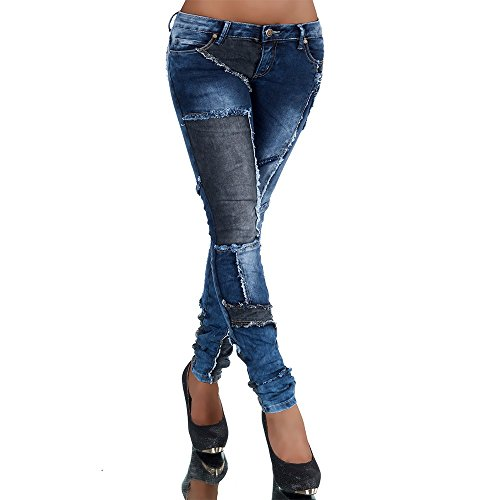 Chic Black Blue Simply Jeans Skinny Donna YwUH6q