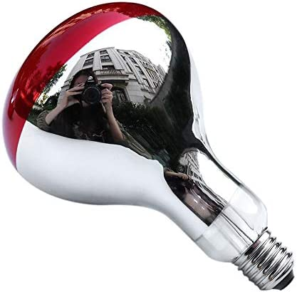 BlackUdragon 275W Infrared Heat Lamp Bulb For Therapy Health Pain Relief Therapeutic Lamp Portable Durable Lamp Bulb